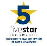 fivestar review site badge